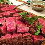 大阪梅田の麺牛でステーキが1,350円で食べ放題!パスタとビュッフェも