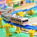 プラレールで千葉駅を再現した人現る!モノレールや道路も完備