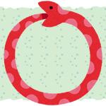 脱皮殻に閉じ込められてウロボロスと化した蛇の動画がすごすぎる!