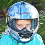 1歳9ヶ月の息子にヘルメット被せたらリボーンのスカルみたいになった!